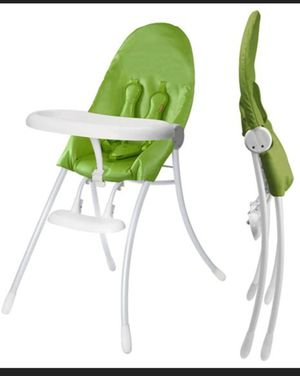 2 Sleek Folding Highchairs that are like new for Sale in Houston, TX