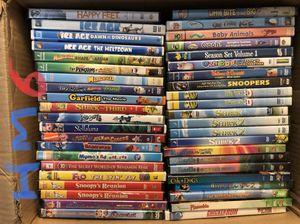 KIDS / CHILDREN DVD MOVIES: ICE AGE, SHARK TALE, SHREK, HAPPY FEET, MADAGASCAR, GARFIELD HM6 for Sale in Allentown, PA