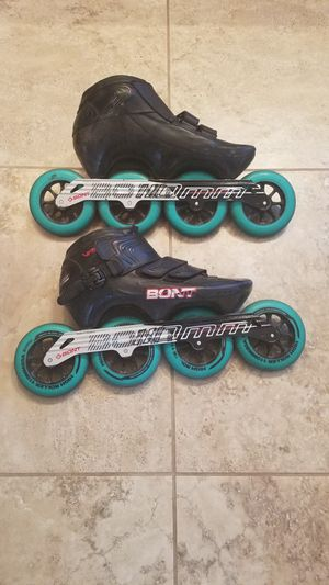 Bont Speed Skates Carbon Fiber Size 10/44 for Sale in Scottsdale, AZ