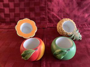 Partylite Fruit Splash Candle Holders 4pc for Sale in La Mirada, CA
