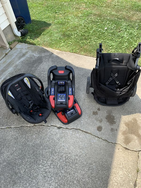 Britax B-Agile Stroller, Car Seat and 2 Bases