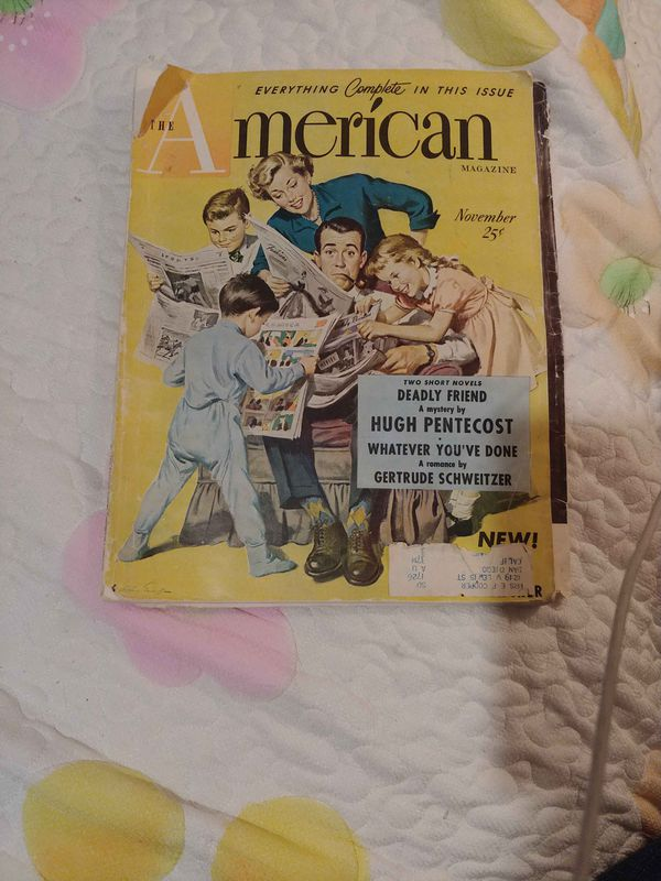 Old American magazine