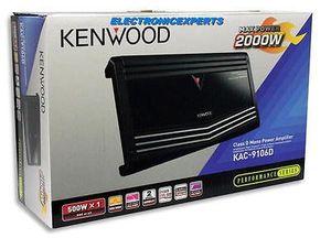 New KENWOOD KAC-9106D 2000 Watt Max Car Monoblock Amplifier Mono Sub Amp KAC9106 $400.00 for Sale in Denver, CO