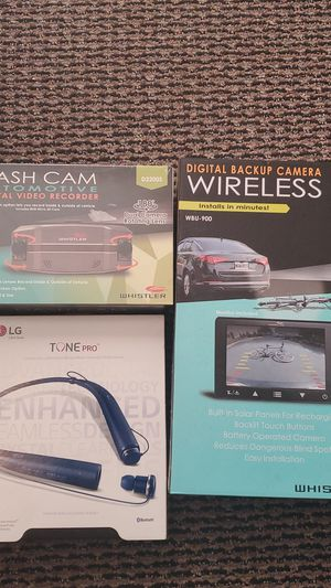 Back up Camera/Dash Camera /Bluetooth headphones for Sale in Waukegan, IL