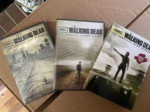 Walking dead season 1-3 for Sale in Olympia, WA