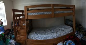 Bunk bed with stairs and dresser for Sale in Port Richey, FL