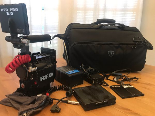 Red Cinema Camera Epic MX 5k package, ready to shoot.