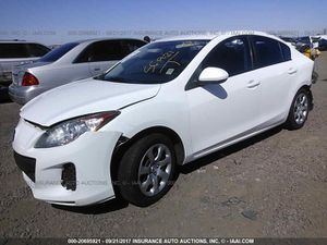 Wrecked 12 Mazda 3 for parts only for Sale in Phoenix, AZ