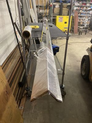 (20) 10ft-3x3 318 stainless steel roof edge for Sale in North Palm Beach, FL