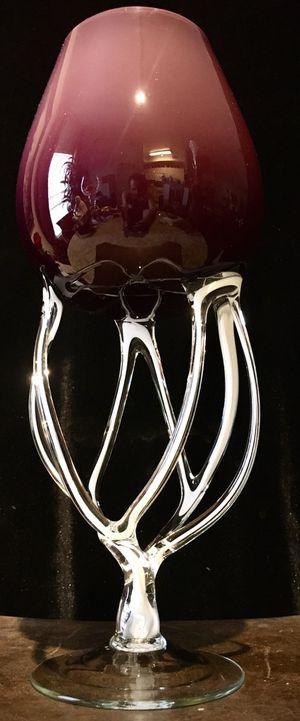 Beautiful, fine Italian, Murano style glass art H12xW5 inch for Sale in Chandler, AZ