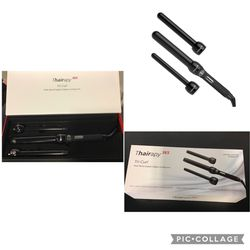 Thairapy 365 Tri-Curl, Multi Barrel Digital Clipless Curling Iron for Sale in Stafford,  TX