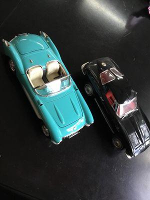 Corvette Diecast cars 1:18 scale 1963 Stingray Ertl 1957 Burago for Sale in Lynnwood, WA