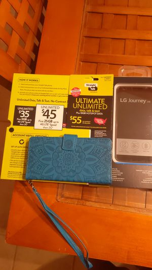 Straight Talk LG Journey +$55 unlimited card with Hotspot for Sale in Columbia, SC