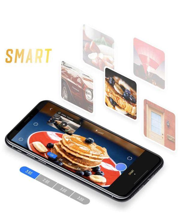 Gimbal Stabilizer for Smartphones, Selfie Stick Tripod Gimbal, Zhiyun Smooth X Foldable Gimbal, Handheld iPhone Samsung Android Phones Gimbal, Suppor