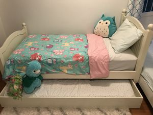 2 Twin Pottery Barn Kids beds with mattresses for Sale in Everett, WA