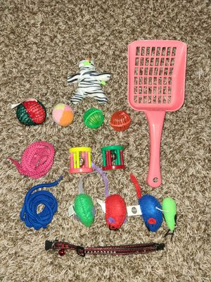 Cat collar, litter scooper & toys for Sale in Lincoln, NE