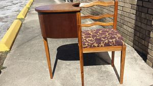 Antique telephone gossip bench chair for Sale in Houston, TX