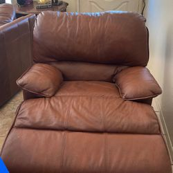 Leather Recliner/Rocker for Sale in Riverside,  CA