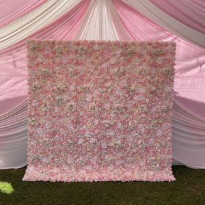 8x8 Pink / White Flower wall Backdrop set up - Party additions for Sale in Baldwin Park, CA