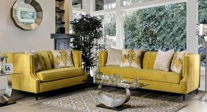 2 PCS Diamond Collection Sofa and Loveseat set $1,889.00. Super sale! In stock! Limited time offer! Free delivery 🚚 for Sale in Ontario, CA
