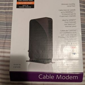 Netgear CM500 High Speed Cable Modem for Sale in Albuquerque, NM