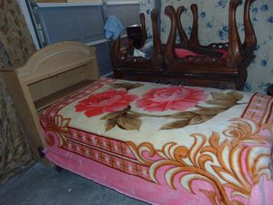 Twin bedroom set with mattress for Sale in Las Vegas, NV