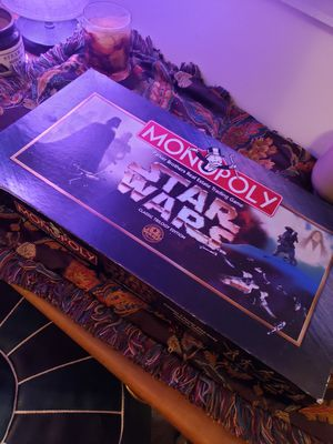 1997 Star Wars Monoply & Trivial Pursuit Board Games for Sale in Takoma Park, MD