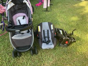 Stroller and car seat for Sale in Irving, TX