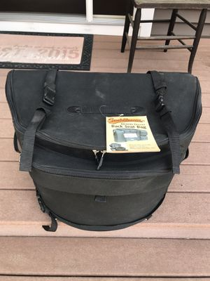 Saddlemen Motorcycle Back Seat Bag for Sale in East Jordan, MI