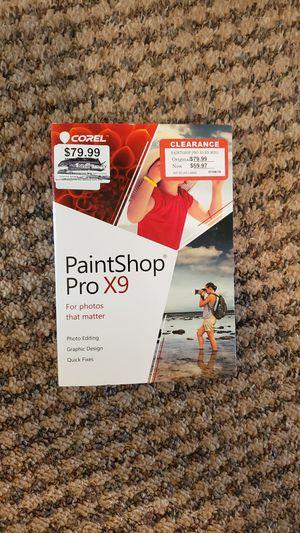 PaintShop Pro X9 for Windows & Mac for Sale in Montrose, CO