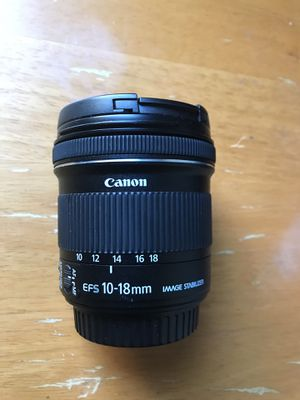 EF-S 10-18mm f/4.5-5.6 IS STM (Wide angle) lens for sale for Sale in San Marcos, CA