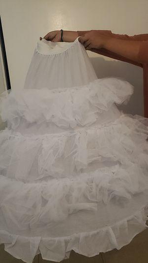 Quinceanera/Wedding dress Crinolin for Sale in Riverside, CA
