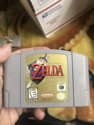 Zelda The Ocarina Of Time Nintendo 64 N64 vintage game cartridge for Sale in Shoreline, WA