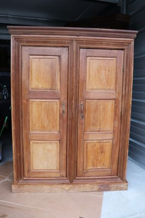 Solid Wood Cabinet for Sale in Traverse City, MI