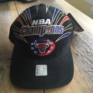 Chicago Bulls Championship hat for Sale in Bridgewater, CT