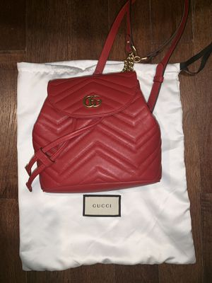 Brand new SMALL GUCCI MARMONT LOVE BACK PACK for Sale in Boston, MA