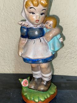 Home made doll figurine $8 or Free with another purchase for Sale in Hollywood,  FL
