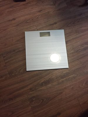 Glass bathroom scale for Sale in Houston, TX
