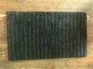 Black bathroom rug / bath mat for Sale in Washington, DC