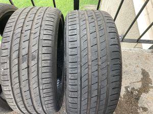 2 tires 245/30zr22 for Sale in Dallas, TX