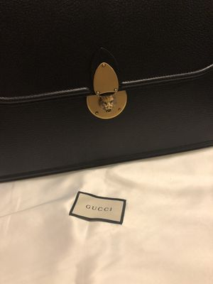Authentic Gucci Leather Briefcase for Sale in Anaheim, CA