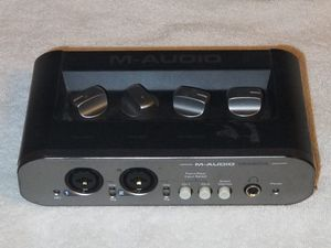 M-Audio Mobile Pre MKII USB Audio Interface MobilePre Mk2 U096442 for Sale in Bethesda, MD