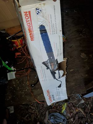 Remmington electric chainsaw used twice for Sale in Brandon, FL