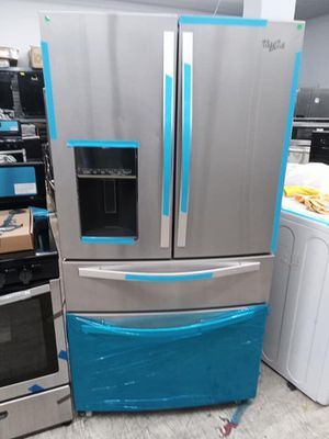 New Whirlpool stainless steel four door French door refrigerator for Sale in Los Angeles, CA