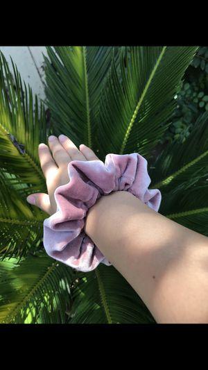 Pink Velvet Scrunchies! for Sale in Modesto, CA
