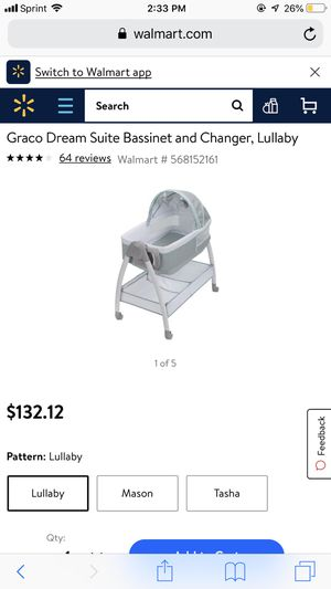 Graco Dream Suite Bassinet and Changer for Sale in Spanaway, WA