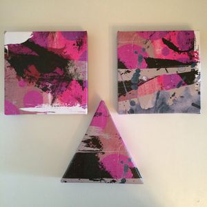 Pink wall art series for Sale in Miami, FL