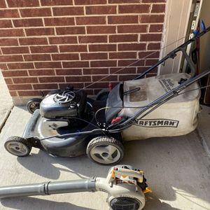 Craftman Ez Walk 7.0 190cc Platinum , Blower And Edger for Sale in Mansfield, TX
