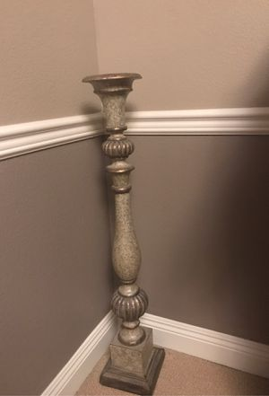 Beautiful candle holder about 41 inches long excepting offers for Sale in Corona, CA