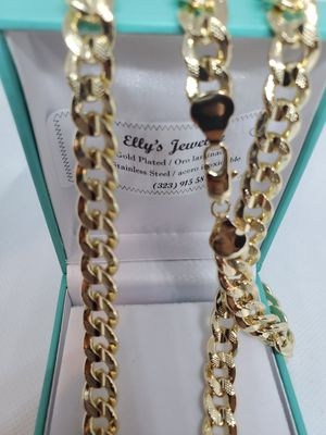 Gold plated necklace for Sale in Las Vegas, NV